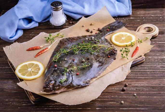 کفشک ماهی پاک نشده