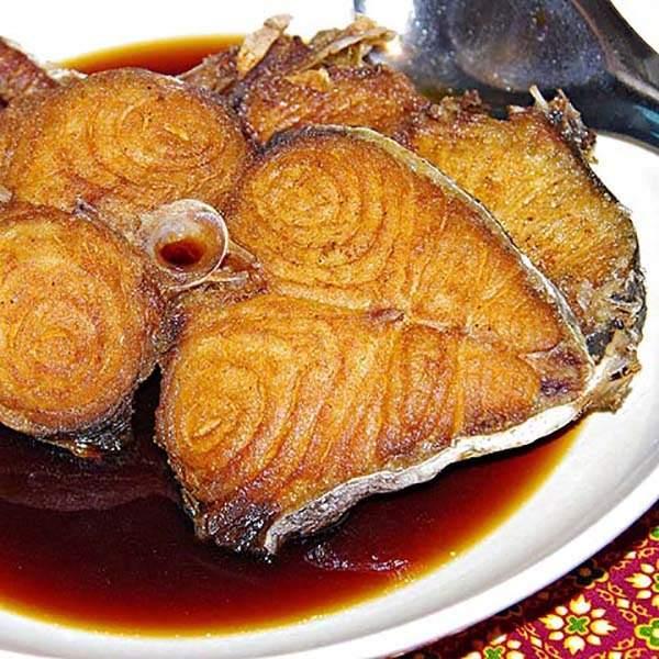 ماهی فیله سرخ شده